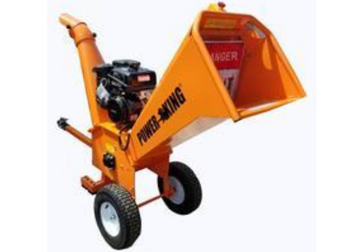 PowerKing 5 Inch Chipper Shredder Electric or Manual Start and Hour Meter – PK0915-EH/PK0915