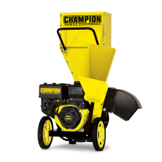 Champion 3 Inch Portable Chipper-Shredder with Collection Bag – 100137